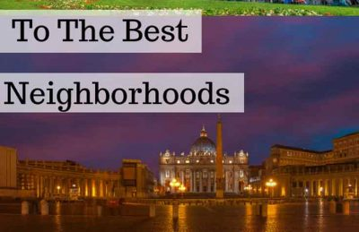 Where to stay in Rome best neighborhoods