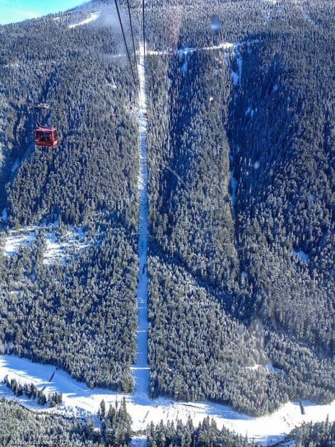 whistler blackholm snowboarding