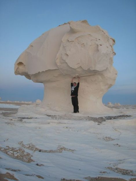 africa places to visit | the white desert