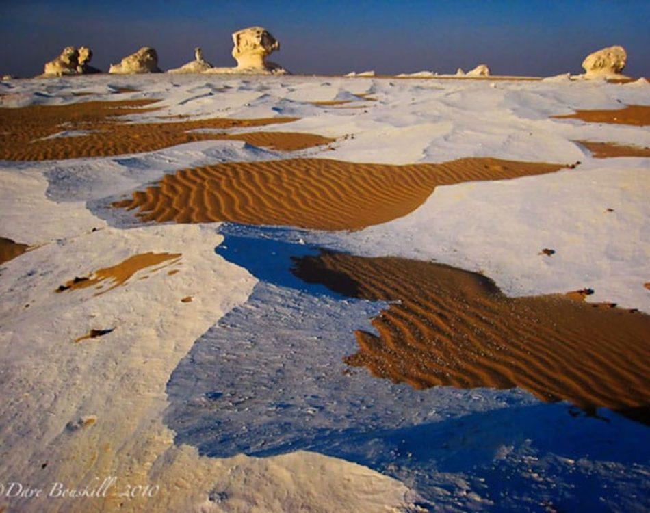 The Lunar Landscape of Egypt's White Desert