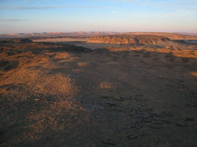 sand dunes of egypt