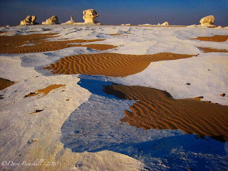 The Lunar Landscape of Egypt's White Desert