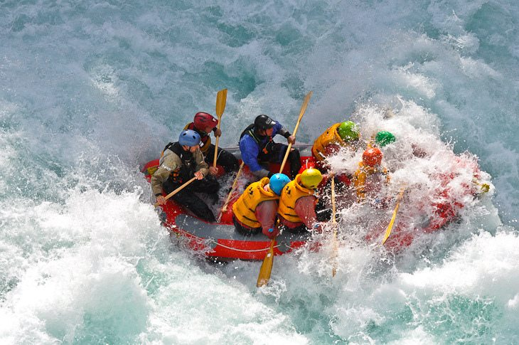 White Water Rafting Class 5 Rapids
