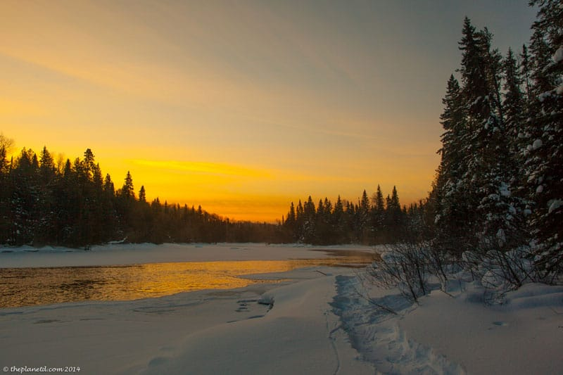 winter expedition river
