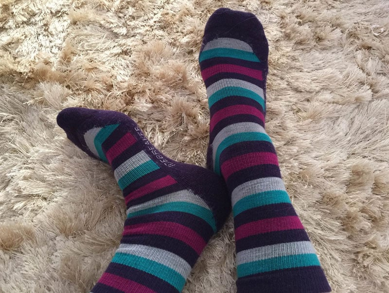winter layering tips socks
