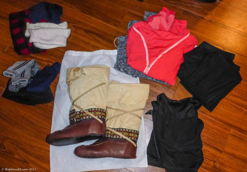winter packing tips boots