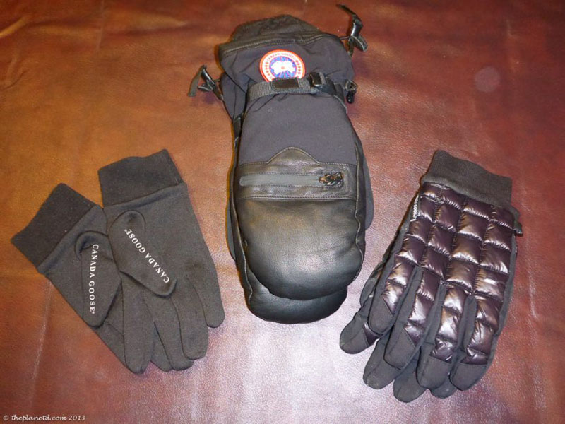 gloves winter packing