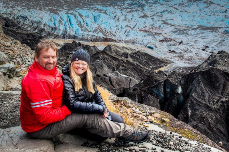 glacier winter travel