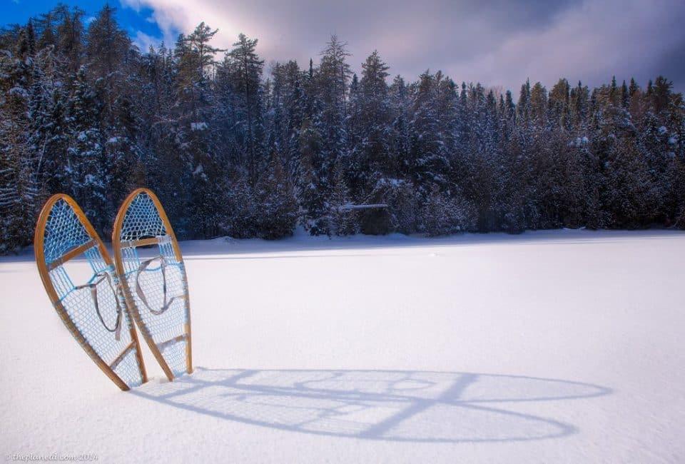 winter trek expedition