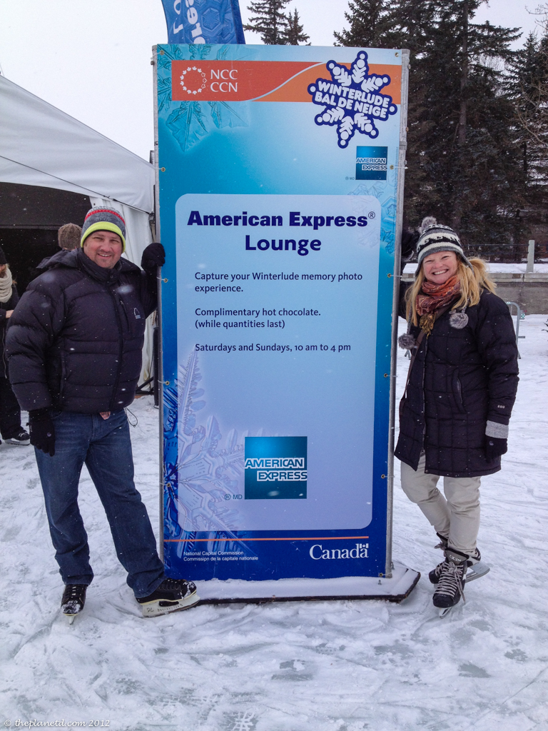 winterlude in Ottawa with American Express