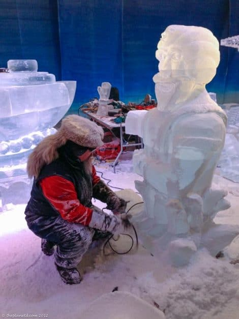 Ottawa attractions winterlude ice sculpture competition
