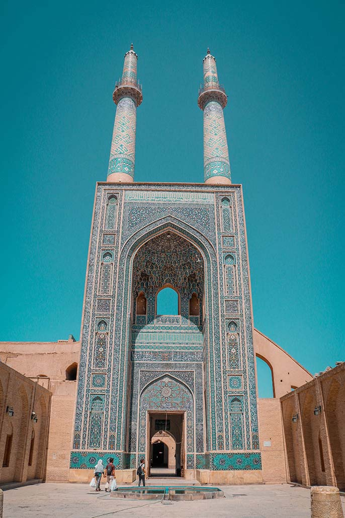 about iran | yazd jameh mosque