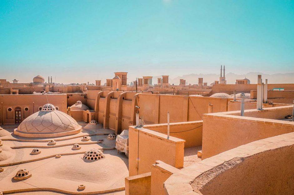 visit iran | yazd old town
