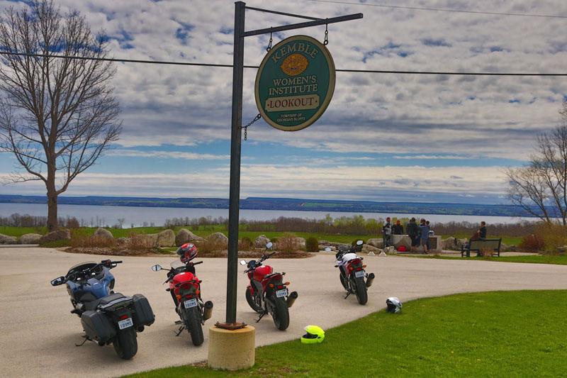 kemble motorcycles travel