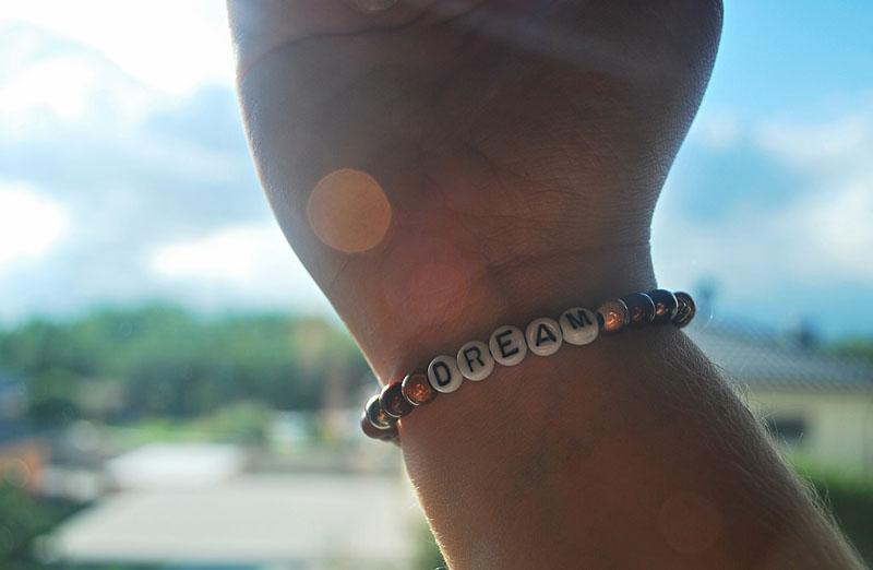 goal setting bracelet