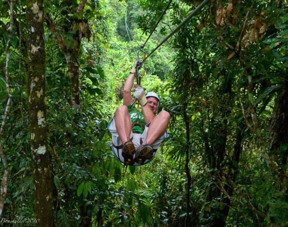 Pacific Coast Fun with Zipline Fiji