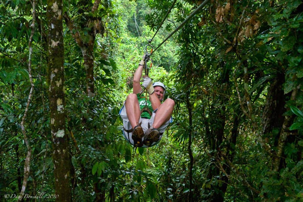 Pacific Coast Fun with Zipline Fiji