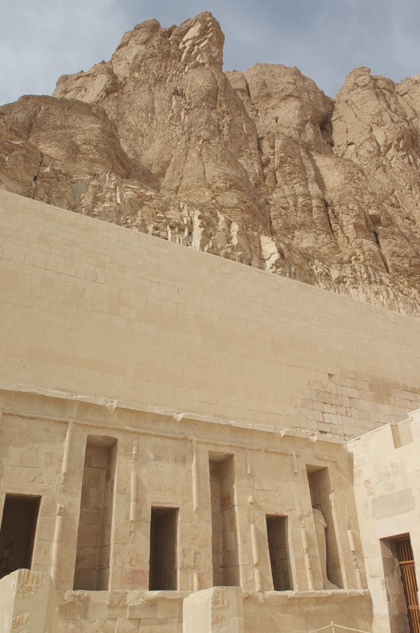 temple of Hatchepsut at Valley of the Kings in Egypt