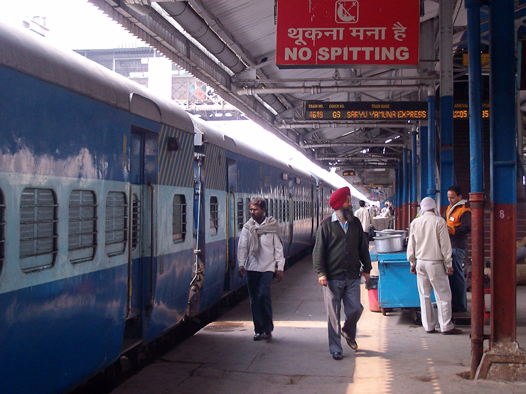 train plantform in india