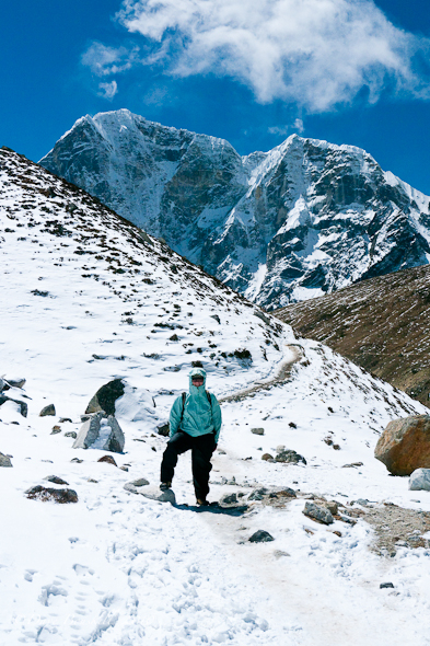 On the Snowy Trail to Everest Base Camp
