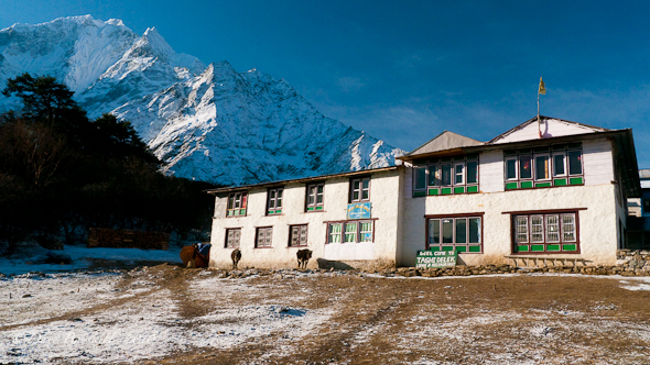 Tengboche Tea House in Nepals EBC Trek