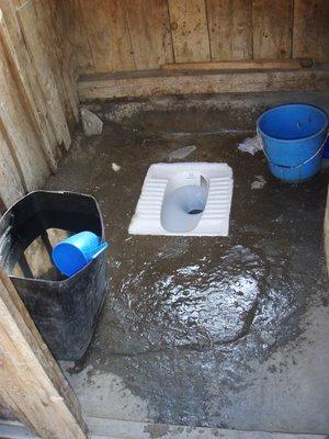 Nice Tea House Toilet!!
