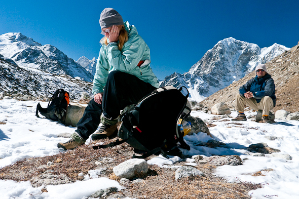 Trail of Everest Base Camp Trek in Nepal