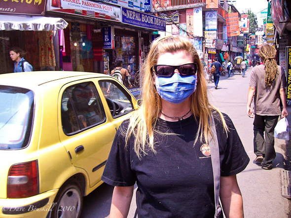 pollution in Kathmandu spa day required