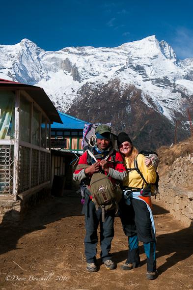 Deb and Porter Shir on Everest Trek