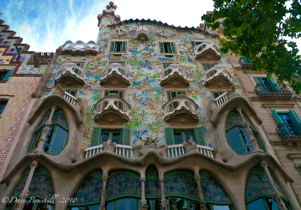 The Works of Gaudi in Barcelona