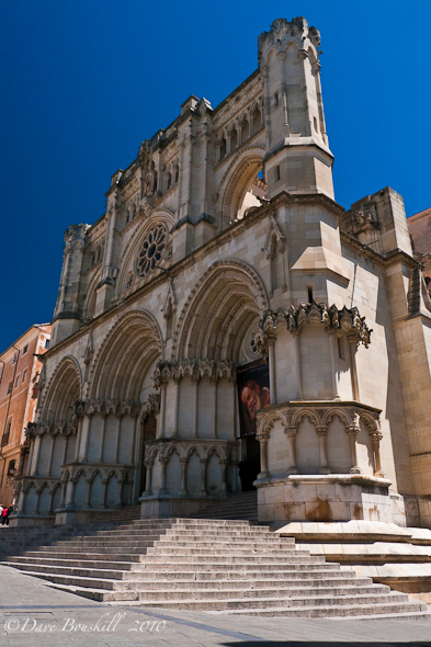 The Cathedral in the Center Square cuenca