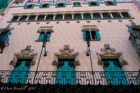 Gaudi in Barcelona Spain