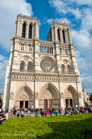 three days in paris, notre dame