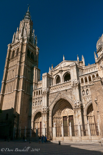 The Cathedral in Toledo spain