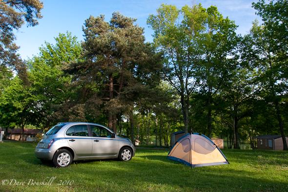 car camping france
