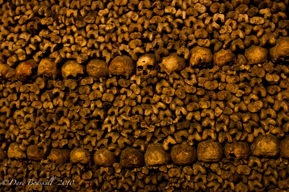 Short time in paris, visit the Catacombs