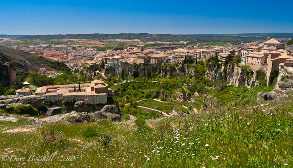 An unobstructed view of Cuenca!