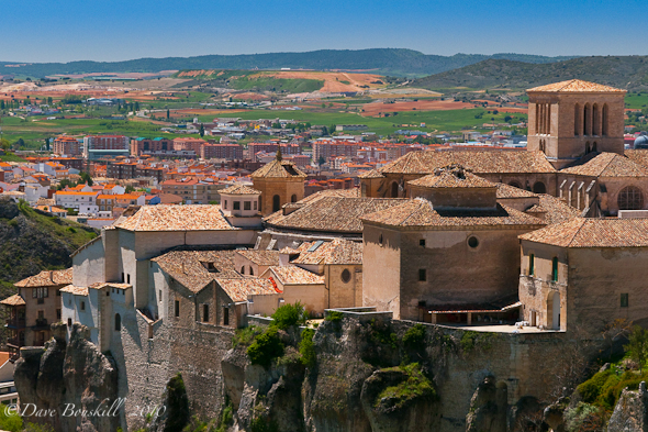 cuenca city view from above