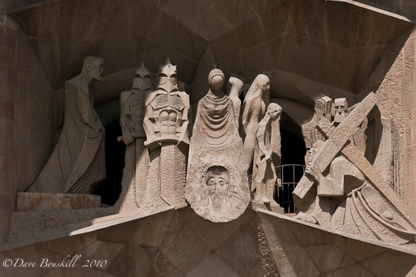 Immaculate Carvings at la sagrada familia