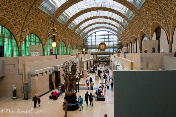 The Musee D'Orsay!