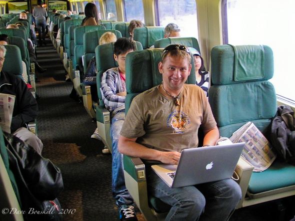 free wifi on via rail trips