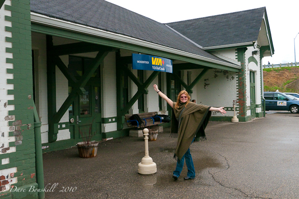 via rail station woodstock ontario