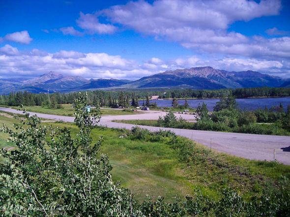 Start of Rocky mountain range