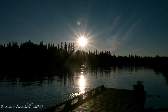 Alaska-Fairbanks-riverboat-sunset