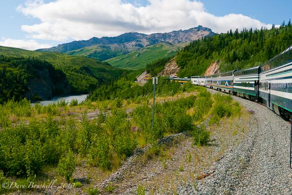 Taking the Midnight Express in Alaska