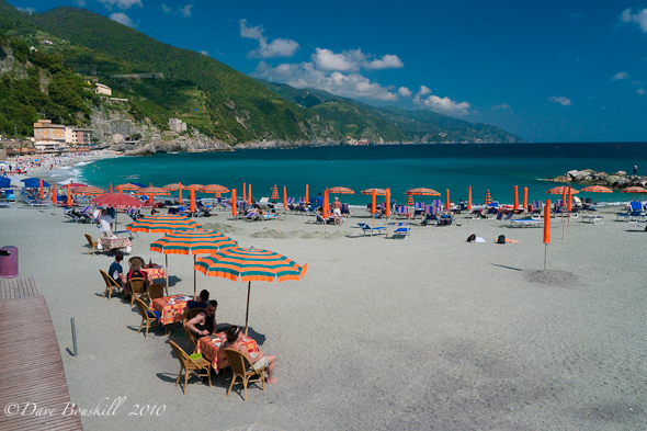 Cinque Terre-Five Villages-Monterosso Beach