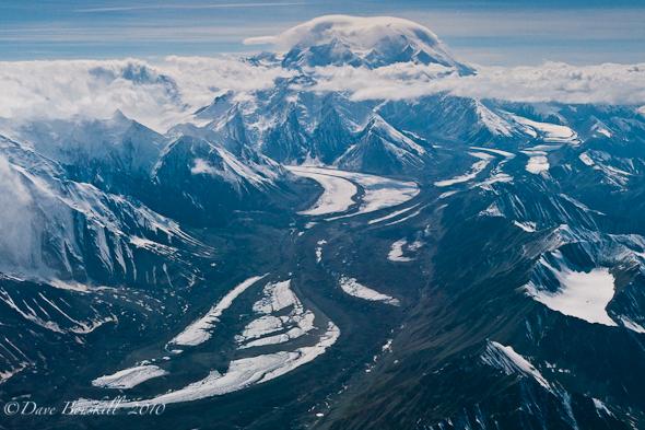 Alaska-Mount McKinley-Views-Flying