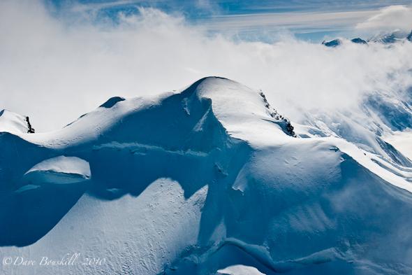 Alaska-Mount McKinley-Flying-Snow Capped Peaks