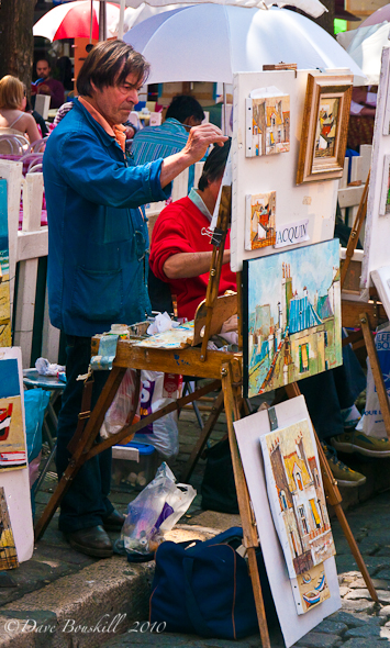 France-Paris-Montmartre-Artist-section