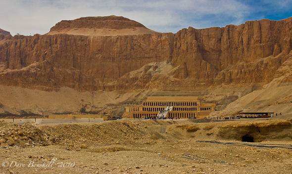 Temple of Hatshepsut in Egypt